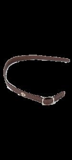 Brown strap for safety glove - Size 0-XXS